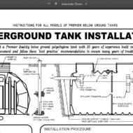 underground tank installation picture
